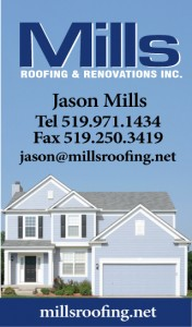 Mills Roofing Windsor